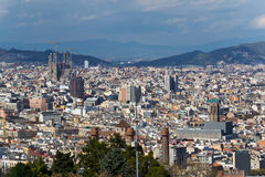 Barcelona, city View. Stock Photos