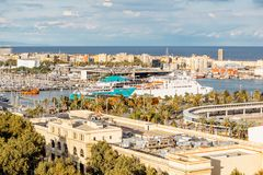Barcelona city view Royalty Free Stock Photography