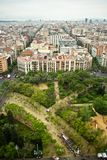 Barcelona cityscape. Royalty Free Stock Image