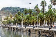 Barcelona cityscape Royalty Free Stock Images
