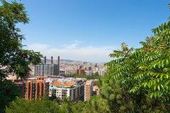 Barcelona Cityscape - Catalonia Spain Royalty Free Stock Images