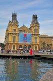 Barcelona cityscape, Spain Royalty Free Stock Image