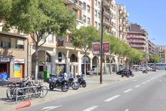 Barcelona, cityscape Royalty Free Stock Photography