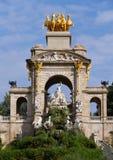 Barcelona Ciudadela Park Royalty Free Stock Photography