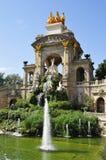 barcelona ciutadella de la parc spain Royaltyfri Fotografi