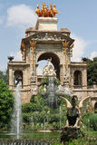 BARCELONA - Ciutadella parkerar Royaltyfri Fotografi
