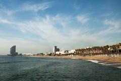 Barcelona coast, Spain. Royalty Free Stock Image
