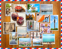 Barcelona collage, a few photos Royalty Free Stock Photography