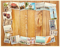 Barcelona collage, postcard Royalty Free Stock Photos