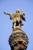 Barcelona - Columbus column Stock Photography