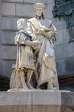barcelona columbus monument Royaltyfri Foto