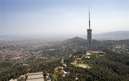 Barcelona - communication tower Royalty Free Stock Photography