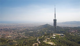 Barcelona - communication tower Royalty Free Stock Photos
