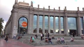 Barcelona Convention Center Fira Barcelona arkivfilmer