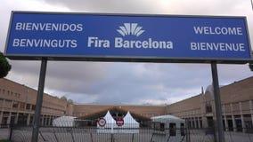 Barcelona Convention Center Fira Barcelona lager videofilmer