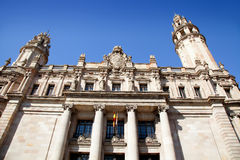 Barcelona Correos post mail building Stock Image