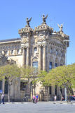 Barcelona. Customs House, it is built at the beginning of 20 cen Royalty Free Stock Image