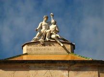 Barcelona, d'Horta 01 de Laberint Imágenes de archivo libres de regalías