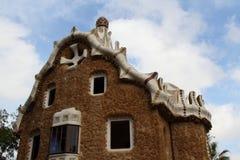 Barcelona, de el ¼ van het Park GÃ Stock Foto's