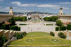 barcelona de espana plaza Fotografering för Bildbyråer