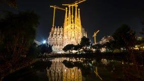 Barcelona is de hoofd en grootste stad van Catalonië, evenals de tweede - meest dichtbevolkte gemeente van Spanje stock afbeeldingen