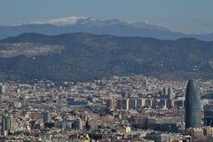 Barcelona de Montjuic Foto de archivo