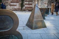 Barcelona de um quarto gótico Imagens de Stock