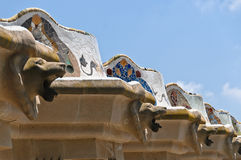 Spain - Barcelona - Parc Guell Royalty Free Stock Photography