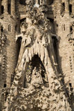 Barcelona - detail from Sagrada la Familia Stock Photo