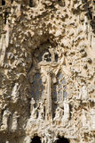 Barcelona - detail from Sagrada la Familia Stock Photography
