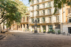 Barcelona district Sant Pere/La Ribera Royalty Free Stock Photos