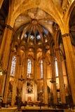 barcelona domkyrka Arkivfoto