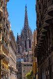 barcelona domkyrka Fotografering för Bildbyråer