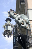 Barcelona dragon Royalty Free Stock Images