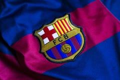 Barcelona emblem royaltyfri fotografi