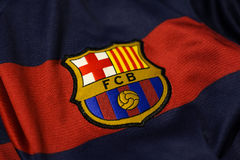 Barcelona emblem. royalty free stock image