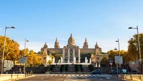 Barcelona es ciudad capital y más grande de Cataluña, así como el segundo municipio populoso de España fotografía de archivo libre de regalías