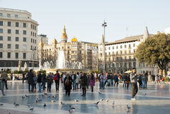 Barcelona, España Imagen de archivo libre de regalías
