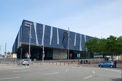 Barcelona, Espanha - 2013 maio: Museu de Blau, museu da ciência natural Fotos de Stock