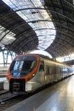 Barcelona för morgonfranskastation arkitektur i art déco Arkivbilder