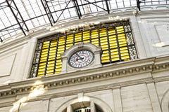 Barcelona för morgonfranskastation arkitektur i art déco Royaltyfri Foto
