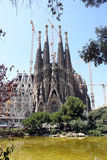 barcelona familia los angeles Sagrada Obrazy Royalty Free