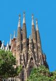 barcelona familia los angeles Sagrada Zdjęcia Stock