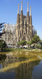 barcelona familia los angeles Sagrada Fotografia Stock