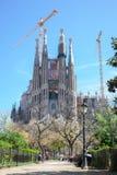 barcelona familia los angeles Sagrada Obraz Royalty Free