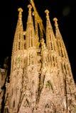 barcelona familia los angeles Sagrada Zdjęcia Royalty Free