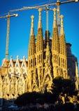 barcelona familia los angeles Sagrada Obrazy Stock