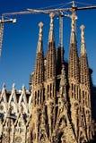 barcelona familia los angeles Sagrada Fotografia Royalty Free