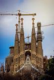 barcelona familia los angeles Sagrada Zdjęcie Stock