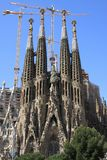 barcelona familia Sagrada Zdjęcia Royalty Free